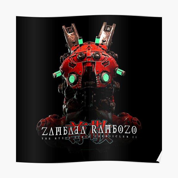 Cover Artwork - The Stand Alone Chronicles II by ZAMBADA RAMBOZO Poster