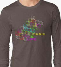 Music Is Life Long Sleeve T-Shirt