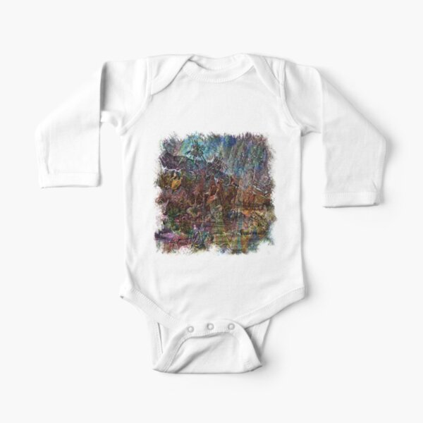 The Atlas Of Dreams - Color Plate 155 Long Sleeve Baby One-Piece