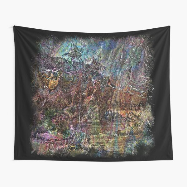 The Atlas Of Dreams - Color Plate 155 Tapestry