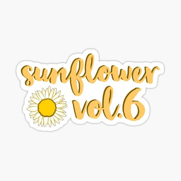 Sunflower, Vol. 6 — Harry Styles Sticker
