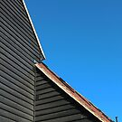 Black Barn by Stephen J  Dowdell