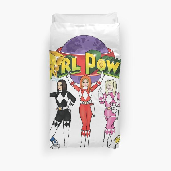 GIRL RANGERS FULL Duvet Cover