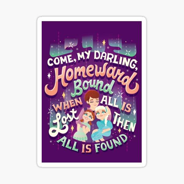 All is Found Sticker