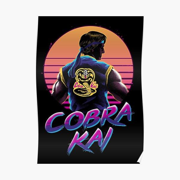 Rad Cobra kai Poster