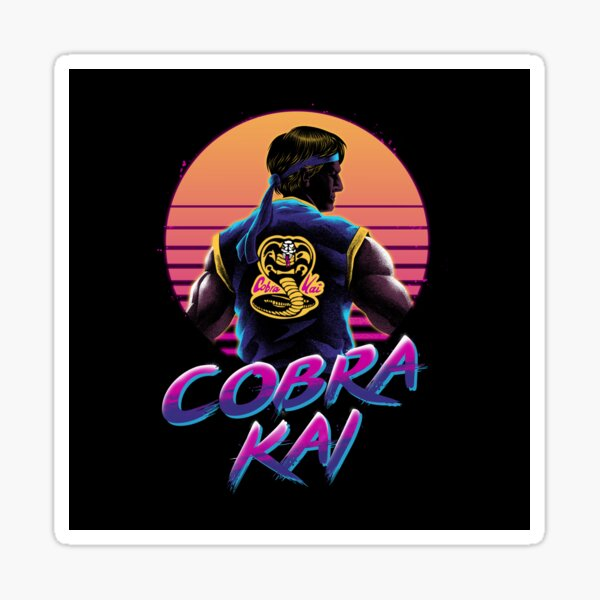 Rad Cobra kai Sticker