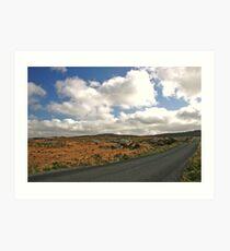 Road to Glenveagh national park #2 Art Print