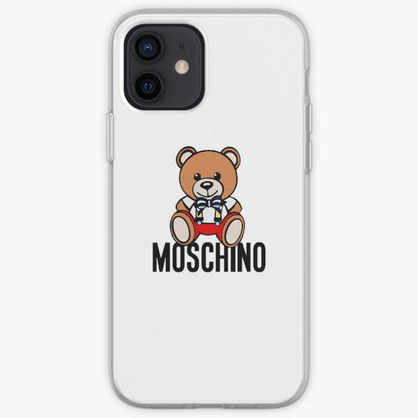 Moschino Funda blanda para iPhone