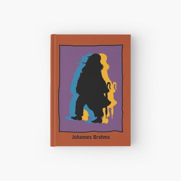 Johannes Brahms in modern colors Hardcover Journal