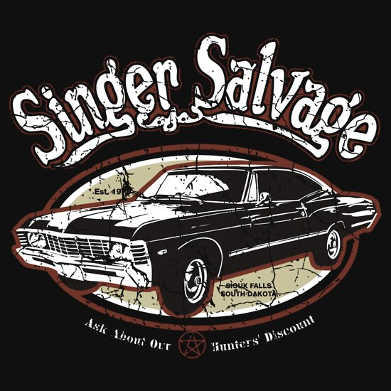 TShirtGifter presents: Singer Salvage