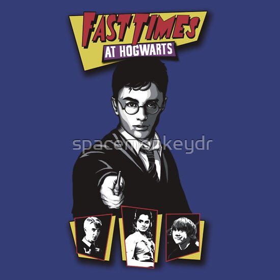 TShirtGifter presents: Fast Times at Hogwarts- Harry Potter Parody