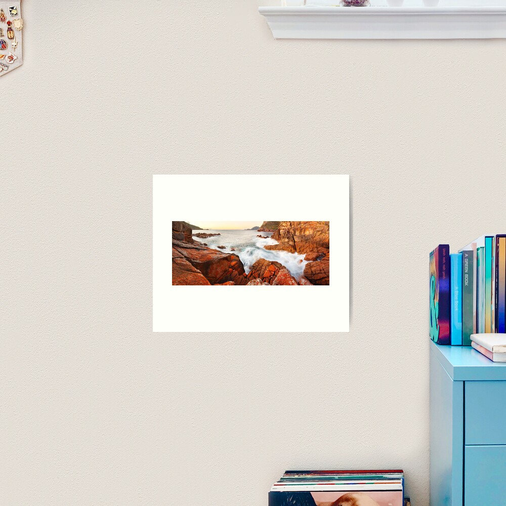 Sleepy Bay Sunrise, Freycinet National Park, Australia Art Print