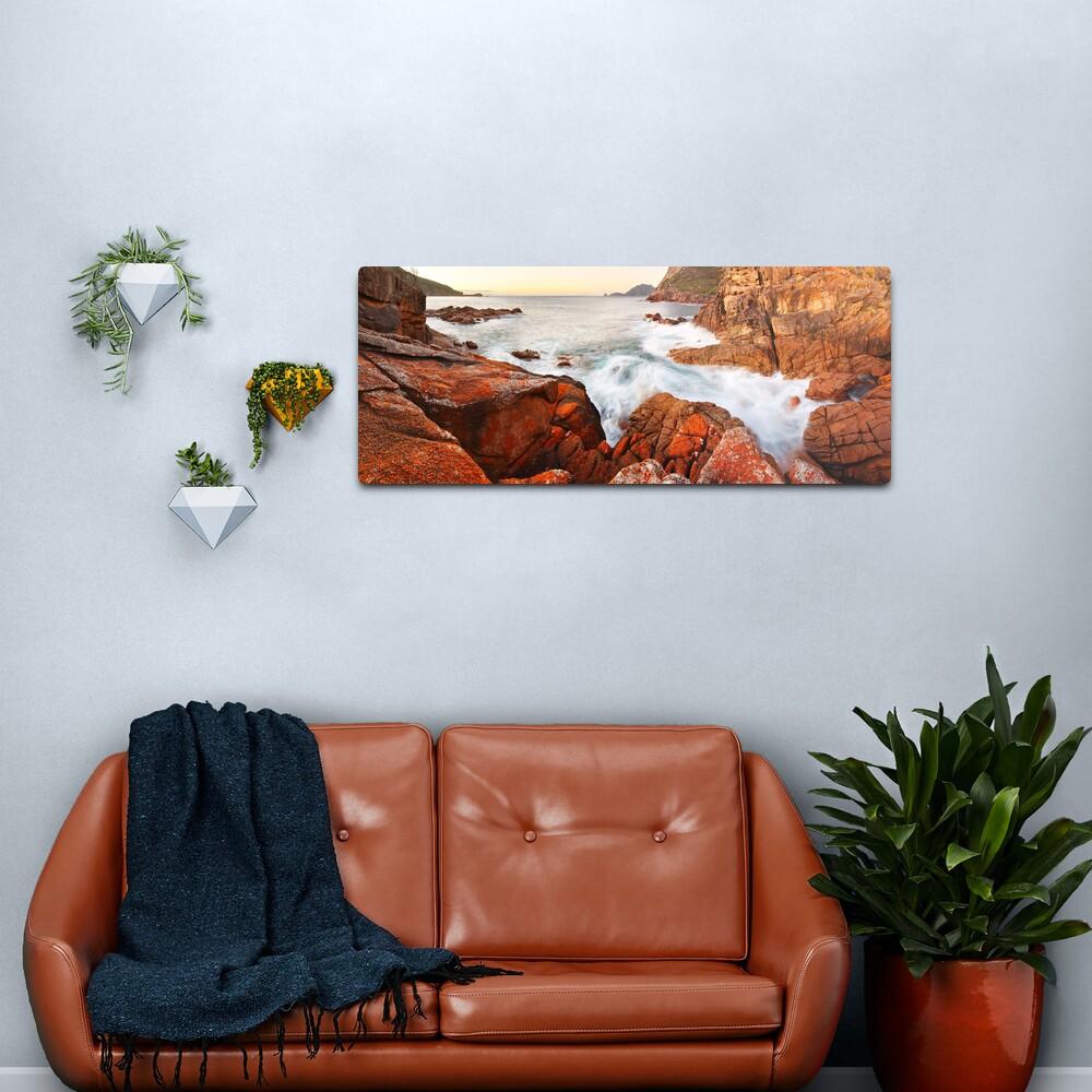 Sleepy Bay Sunrise, Freycinet National Park, Australia Metal Print