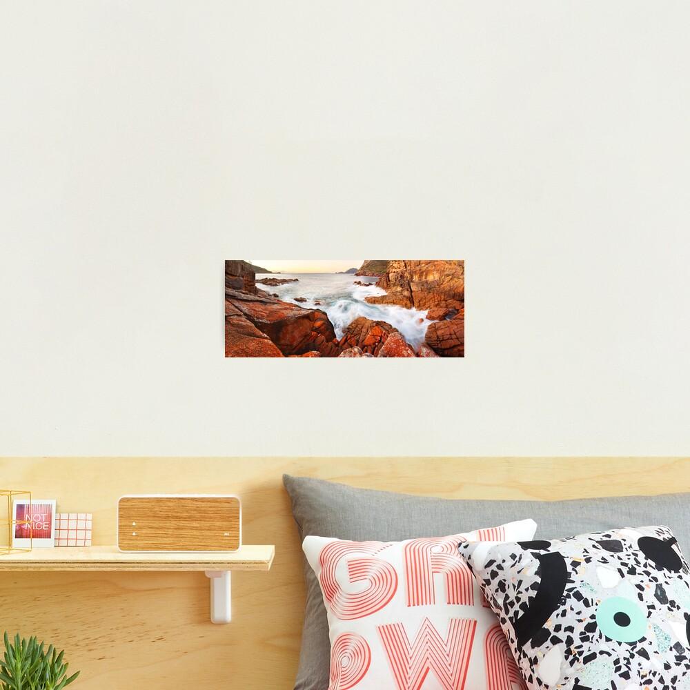 Sleepy Bay Sunrise, Freycinet National Park, Australia Photographic Print