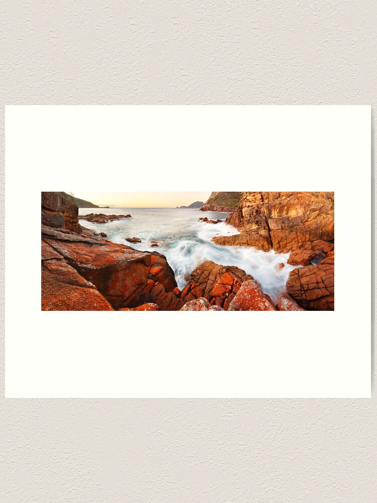 Alternate view of Sleepy Bay Sunrise, Freycinet National Park, Australia Art Print