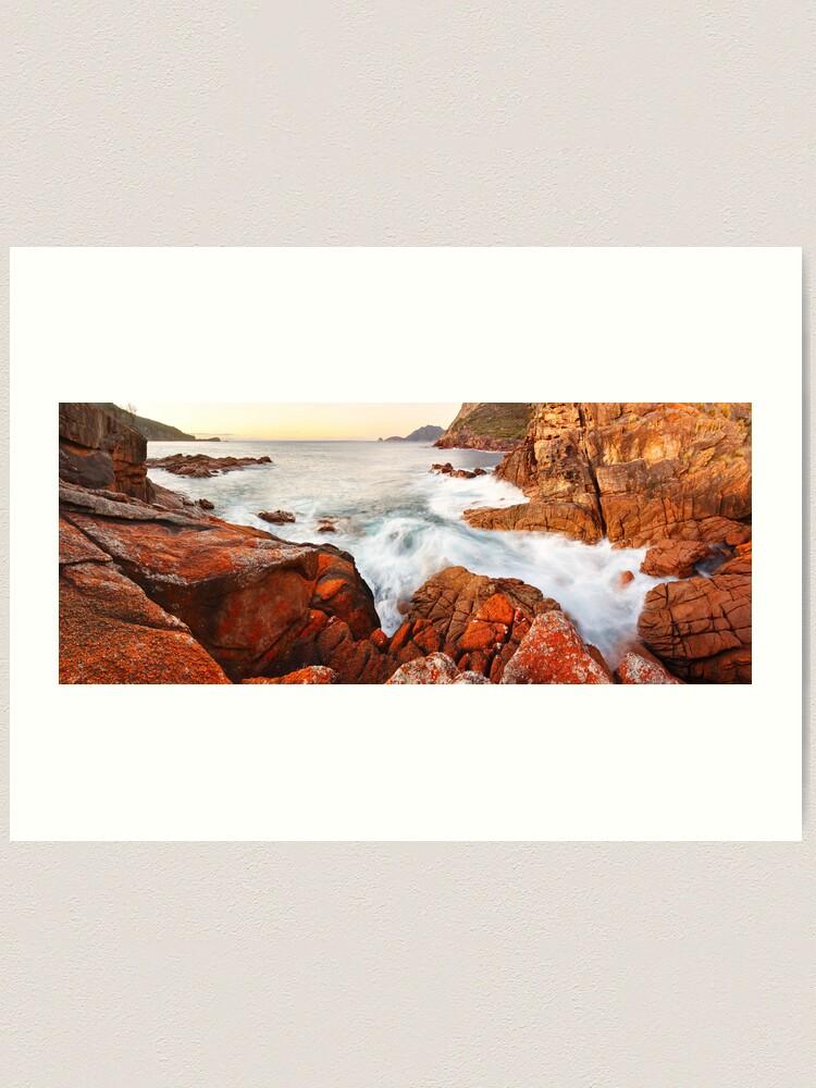Alternate view of Sleepy Bay Sunrise, Freycinet National Park, Australia Art Print