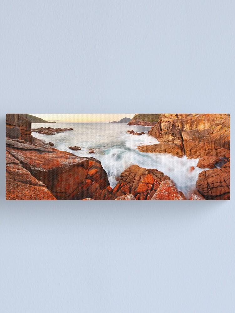 Alternate view of Sleepy Bay Sunrise, Freycinet National Park, Australia Canvas Print