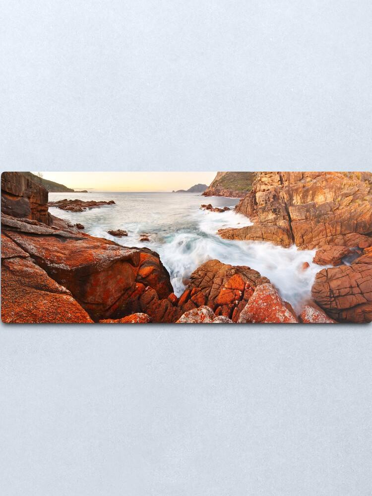 Alternate view of Sleepy Bay Sunrise, Freycinet National Park, Australia Metal Print