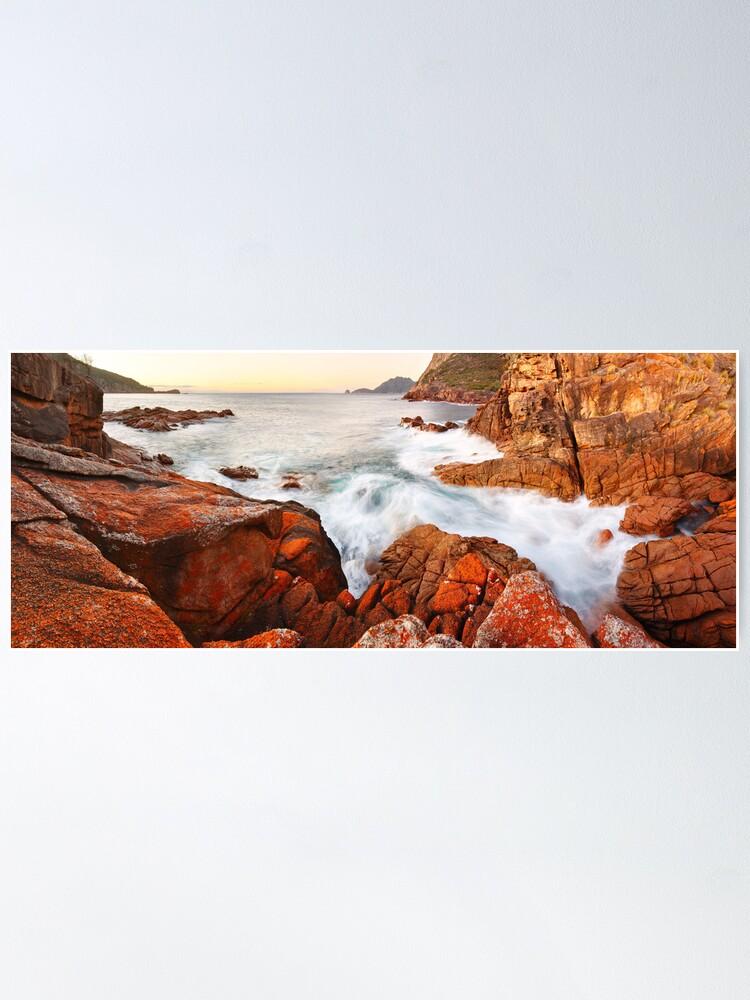 Alternate view of Sleepy Bay Sunrise, Freycinet National Park, Australia Poster