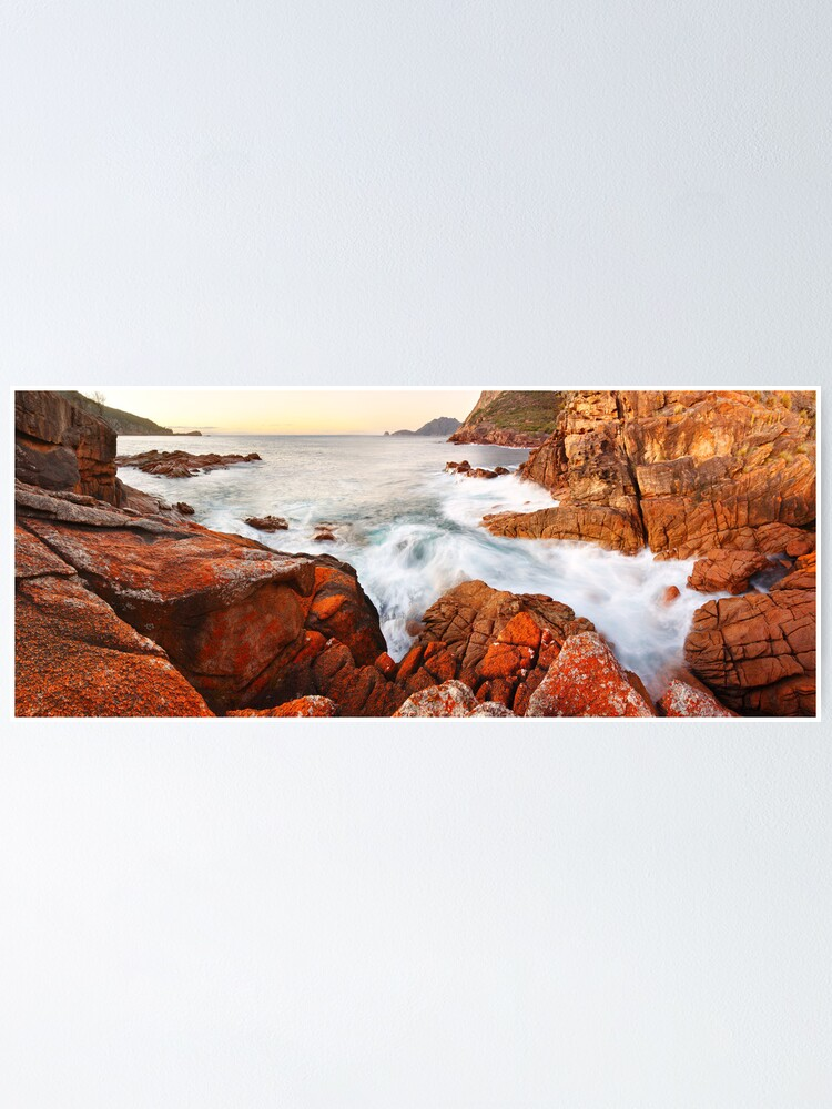 Alternate view of Sleepy Bay Sunrise, Freycinet National Park, Australia Poster