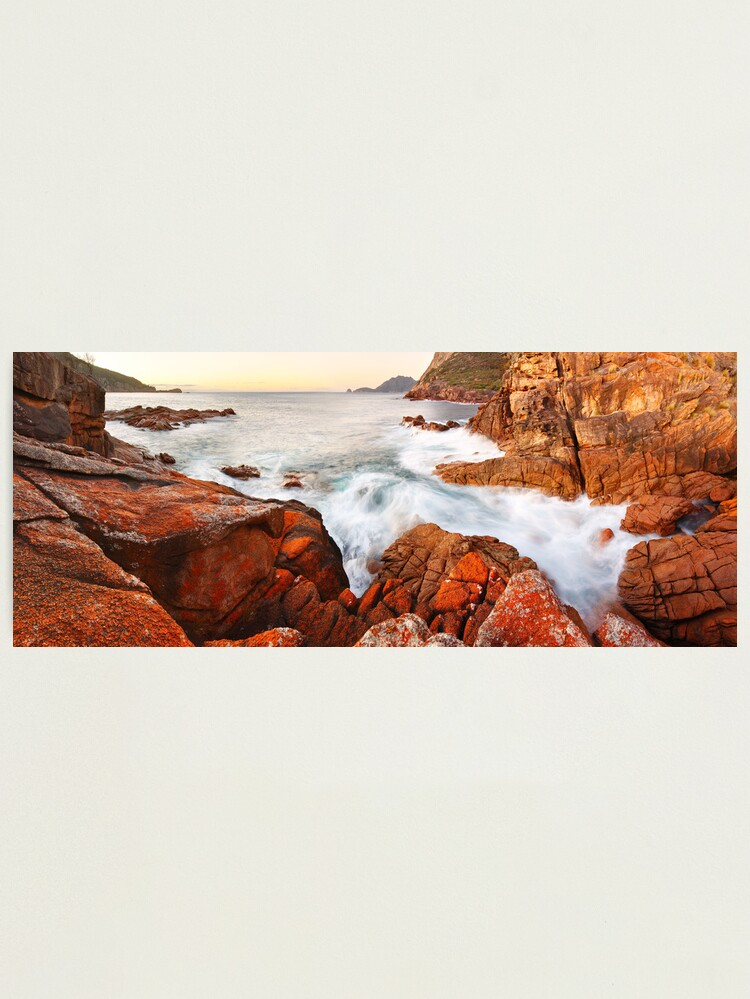 Alternate view of Sleepy Bay Sunrise, Freycinet National Park, Australia Photographic Print