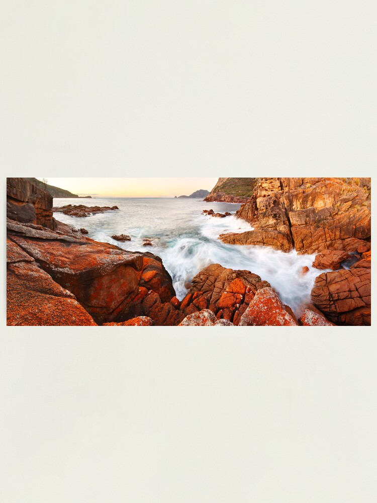 Alternate view of Sleepy Bay Sunrise, Freycinet National Park, Australia Photographic Print