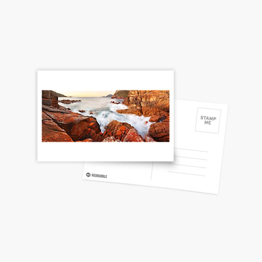 Sleepy Bay Sunrise, Freycinet National Park, Australia Postcard