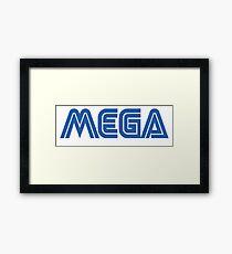 MEGA (SEGA) Framed Print