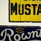 Advertising signs by Robert Steadman