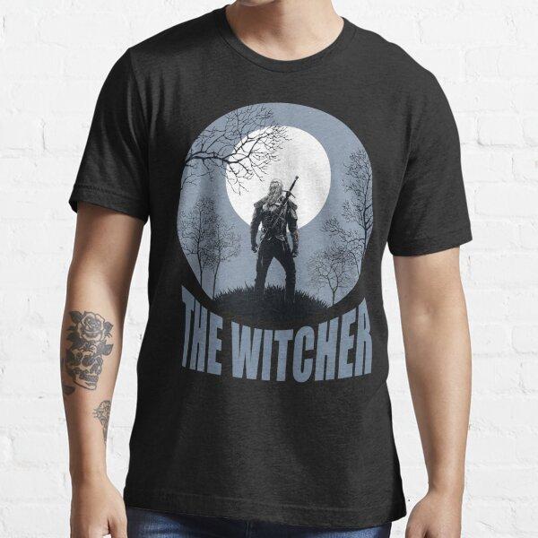 Geralt (black) Essential T-Shirt