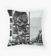 PART NINE A - The Queen's Bishop Sends in the Artillery... Throw Pillow