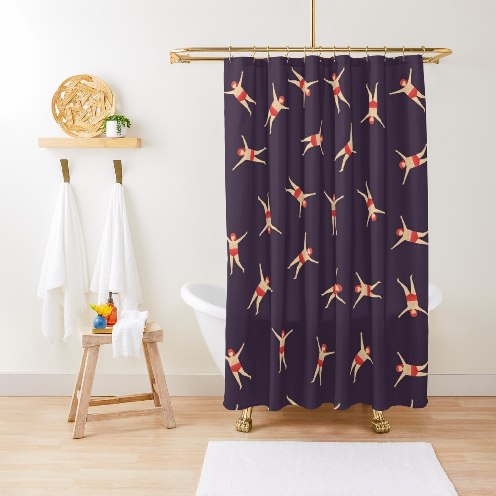 Happy Girl Shower Curtain