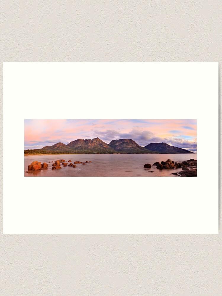 Alternate view of Coles Bay, Freycinet National Park, Australia Art Print