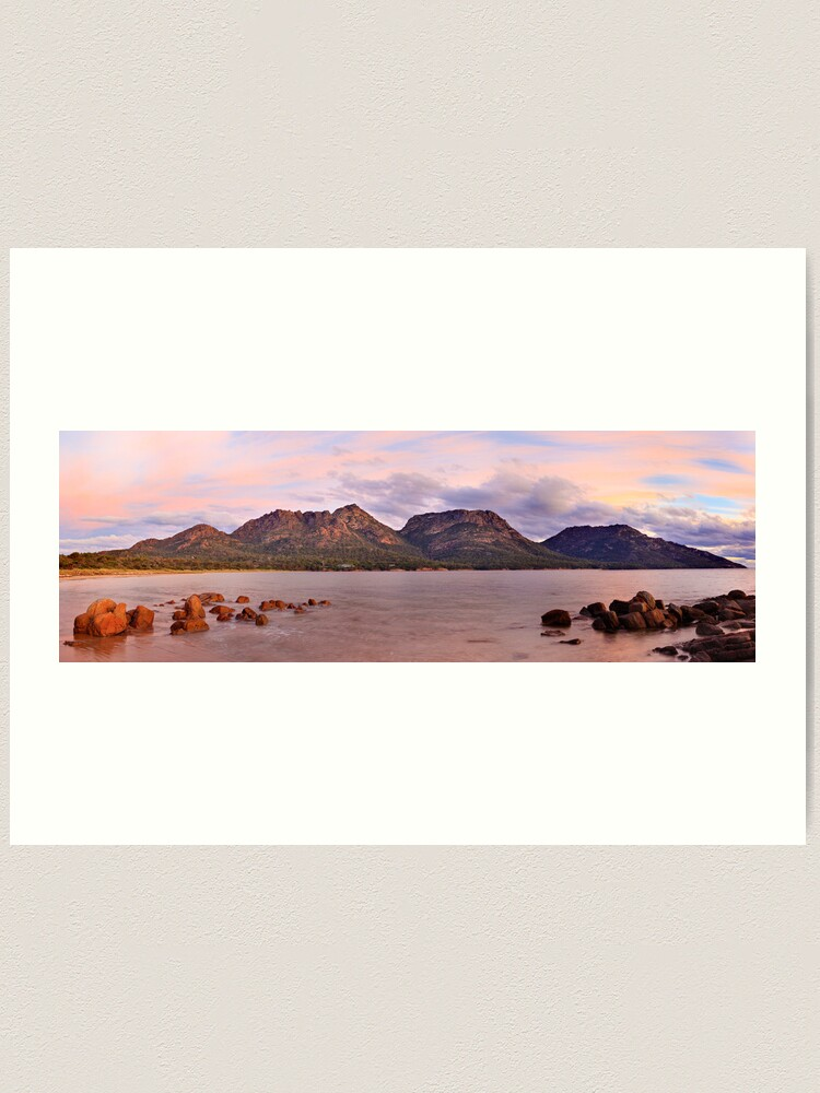 Alternate view of Coles Bay, Freycinet National Park, Australia Art Print