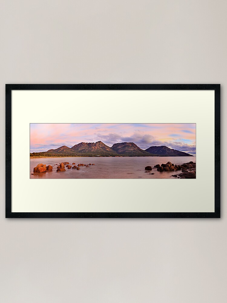 Alternate view of Coles Bay, Freycinet National Park, Australia Framed Art Print