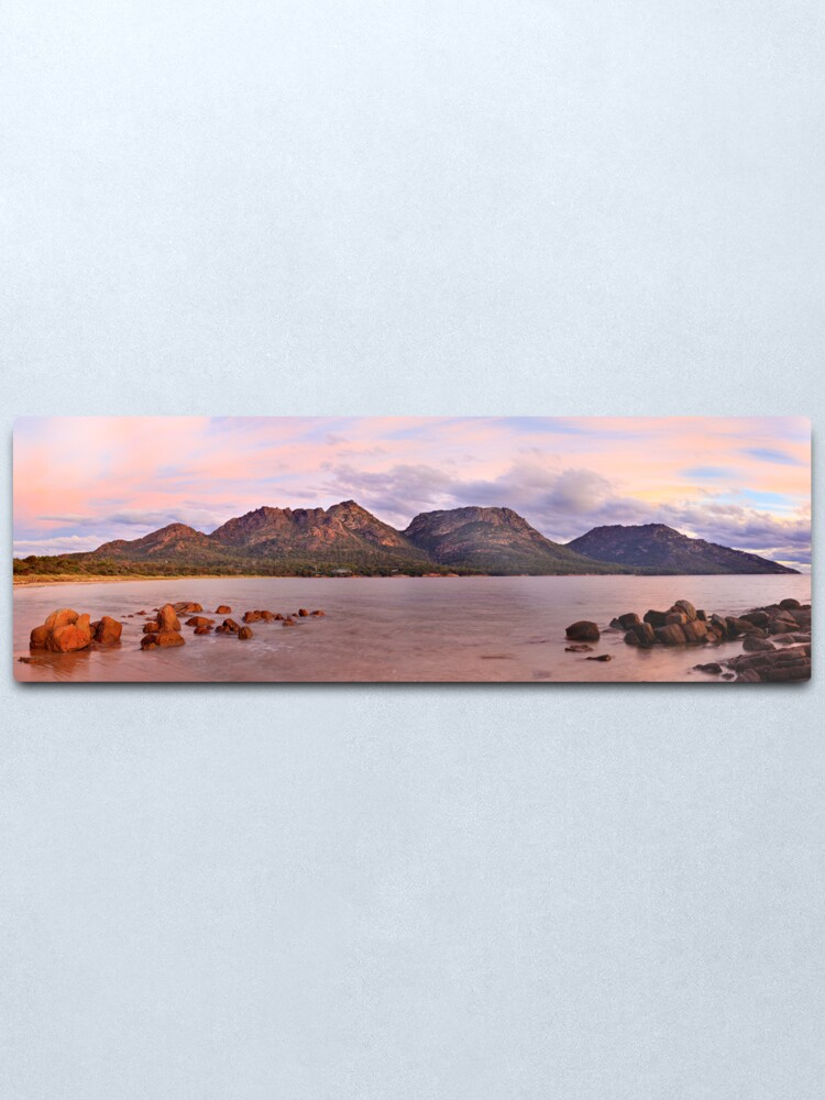 Alternate view of Coles Bay, Freycinet National Park, Australia Metal Print