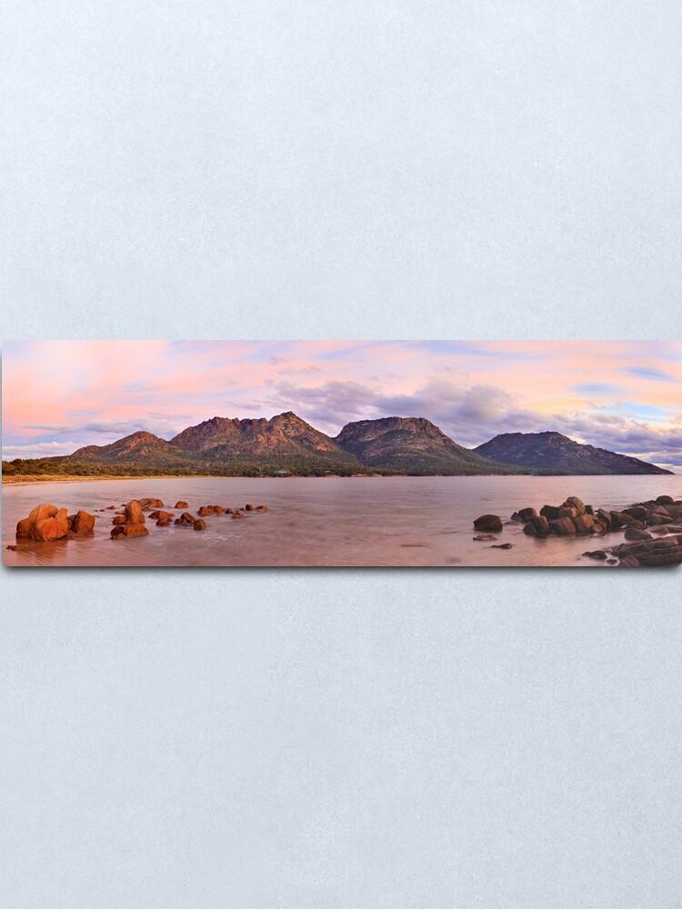 Alternate view of Coles Bay, Freycinet National Park, Australia Metal Print