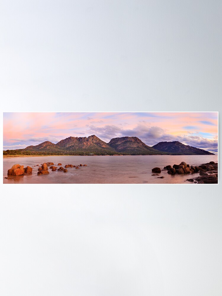 Alternate view of Coles Bay, Freycinet National Park, Australia Poster