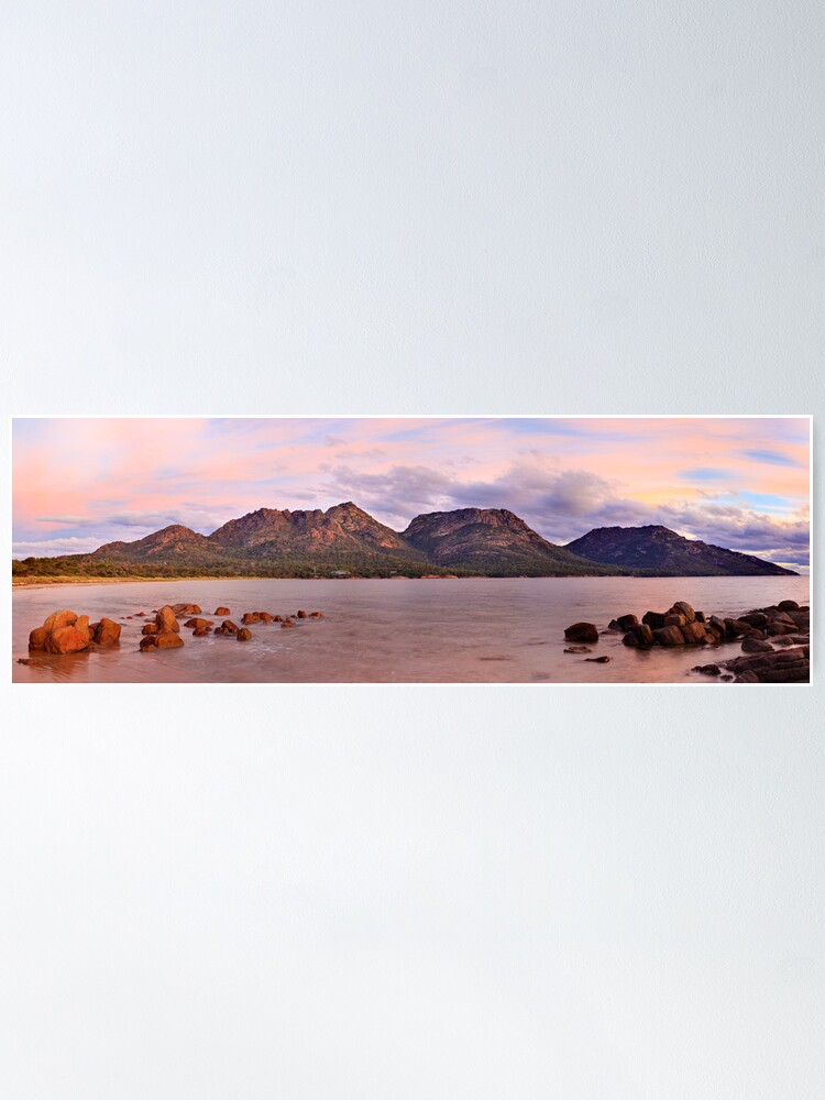 Alternate view of Coles Bay, Freycinet National Park, Australia Poster