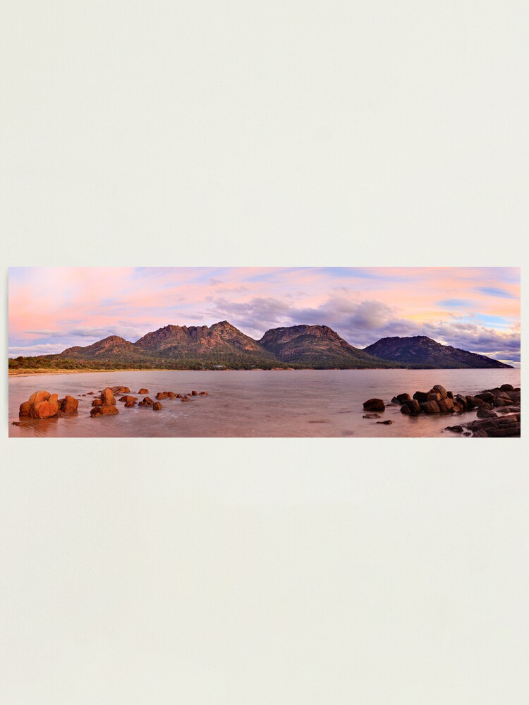 Alternate view of Coles Bay, Freycinet National Park, Australia Photographic Print
