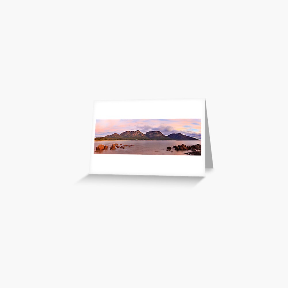 Coles Bay, Freycinet National Park, Australia Greeting Card