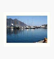 Beach- Muizenburg, Cape Town Art Print