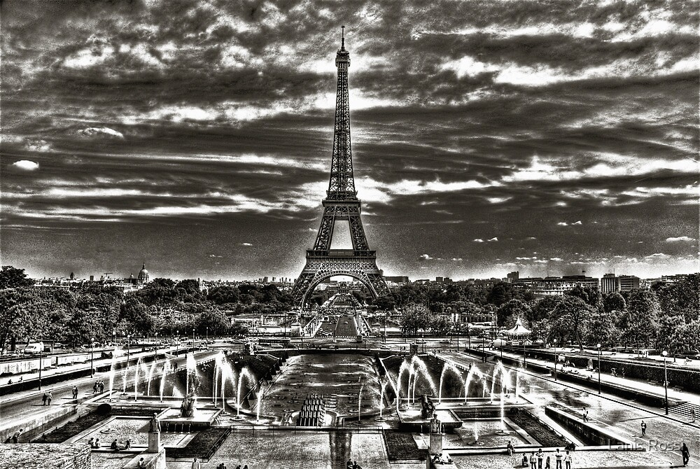 I Love Paris by Lanis Rossi