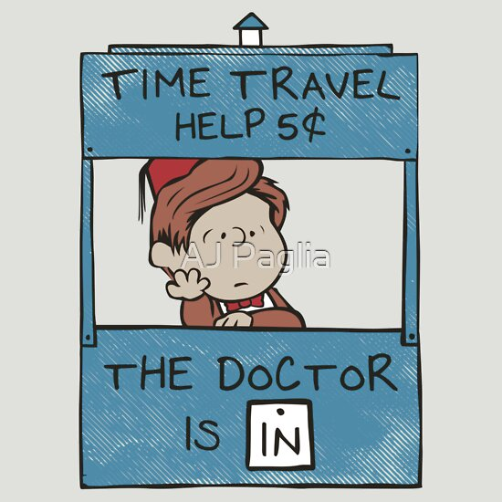 TShirtGifter presents: The Doctor Is In