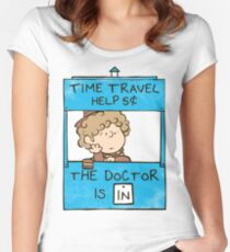 The Doctor Is In Women's Fitted Scoop T-Shirt