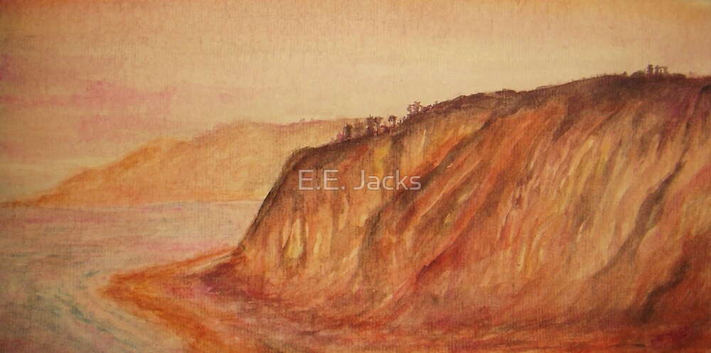 Black's Beach, La Jolla -Somewhere by E.E. Jacks