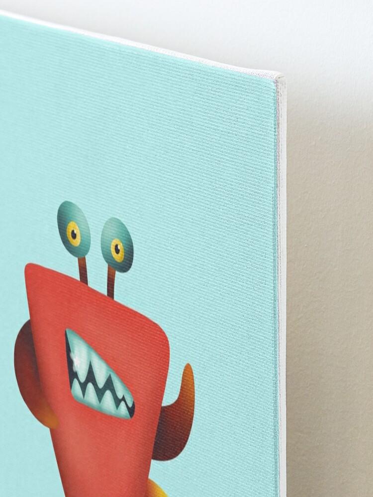 Alternate view of Devil crab monster Mounted Print