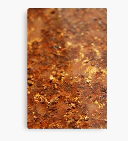 like rust upon iron... Metal Print