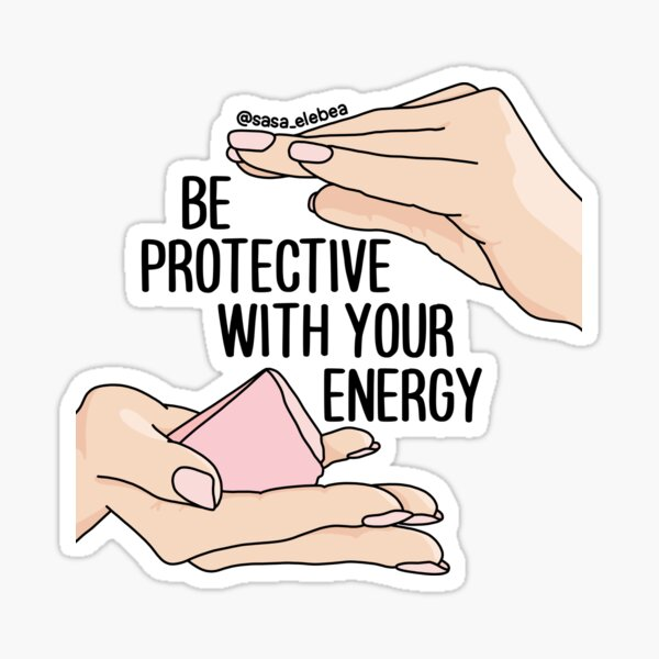 Be protective y Sasa Elebea Sticker