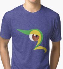 Pokemon - Snivy / Tsutarja Tri-blend T-Shirt
